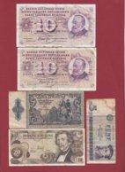 Autres-Europe  5 Billets Dans L 'état - Banknoten