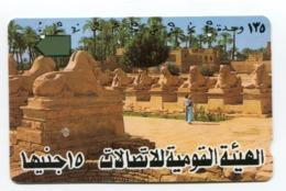 Telecarte °_ Egypte-Louxor-Allée Des Sphinx-  R/V 3748 ° LUXE - Aegypten