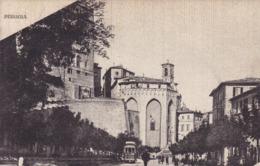 Perugia * Burg, Festung, Tram, Stadtteil * Italien * AK1572 - Perugia