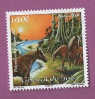 W39 Polynésie ** 2014 1053 Cheval De Bois - Polynésie Française