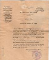VP15.858 - MILITARIA - Guerre 39 / 45 - Bulletin De Présence Au Corps - Soldat A.NEVEU Au 1er Rgt Du Génie - Documents