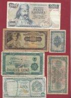 Autres-Europe 6 Billets Dans L 'état - Banknotes