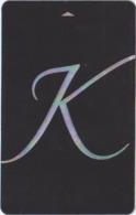 SVIZZERA  KEY HOTEL  Kempinski - Hotel Keycards
