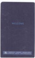 STATI UNITI  KEY HOTEL  Hilton Welcome - Hotel Keycards