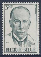 Belgie Belgique Belgium 1971 Mi 1655 YT 1603 SG 2240 ** Dr. Jules Bordet, Medical Scientist / Bakteriologe, Nobelpreis - Nobelprijs