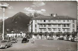 CPSM. GARMISCH PARTENKIRCHEN. HÔTEL VIER JAHRESZEITEN. VOITURES ANCIENNES. 1961. - Garmisch-Partenkirchen