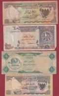 Pays Arabes  4 Billets Dans L 'état - Banknoten