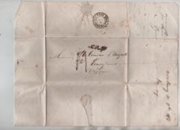 PR7509/ LAC/BMI C.Midelburg 1854 Gff Na Postijd Port 4 > Ecaussinnes C.Hollande Nord 2 - Belgium
