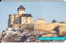 SLOVAKIA(chip) - Trenciansky Hrad, Tirage 50000, Used - Landschaften
