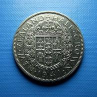 New Zealand 1/2 Crown 1941 Silver - Nieuw-Zeeland