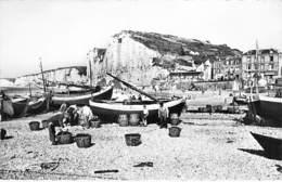 76 - YPORT : Bateaux De Pêche - CPSM Dentelée Noir Blanc Format CPA - Seine Maritime - Yport