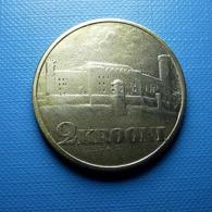 Estonia 2 Krooni 1930 Silver Bad Clean - Estonia