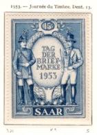Ex Colonie Française  * Sarre *   Poste : 321  N** - 1947-56 Occupation Alliée