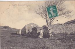 Cpa-afri-algerie-tiaret -personnage-ruines De La Smala-edi ....  N°13 - Tiaret