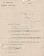 1919 / Constitution Dossier Pension Sand Ulysse à Rochegude 26 Drôme / XV Région Militaire Nîmes Gard - 1914-18