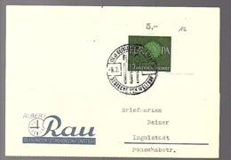 1961 Albert Rau Geislingen-St. Hohenstaufenstr. 60 'Destecken Von Weltruf' (Bu12-29) - Briefe U. Dokumente