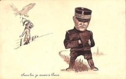 Caricature - Sans Lui, Je Serais à Paris (Hitler... PhoB... Pli) - Umoristiche