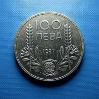 Bulgaria 100 Leva 1937 Silver - Bulgaria