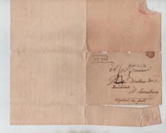 PR7512/ Précurseur LSC/BZI Griffe Namur N° 382 Port 4 > Luxembourg Période Française ? - 1794-1814 (French Period)