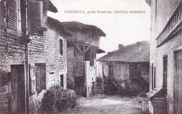 42 - Loire - PERREUX Pres Roanne-  Vieilles Maisons - Autres Communes