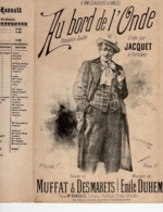 CAF CONC BOUFFE LGBT MST JACQUET PARTITION AU BORD DE L'ONDE MUFFAT DESMARETS DUHEM 1895 ILL GANGLOFF - Other