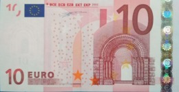 10 EURO España(V) G005,low Nummer, DUISEMBERG - EURO
