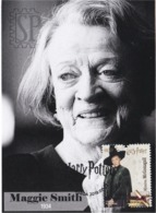 Portugal 2019 Harry Potter Maggie Smith Actriss Minerva Mcgonagall Cinema Movie Literature Kino Maxicard Maximum Maximo - Cinema