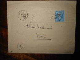 Enveloppe GC 4008 Traves Haute Saone - 1849-1876: Période Classique