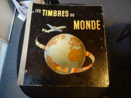TIMBRES DU MONDE Album  THIAUDE  Des Années 1956  +- - Timbres
