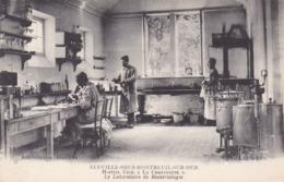 Neuville Sur Montreuil, La Chartreuse Hôpital Civil, Le Laboratoire De Bactériologie (pk62314) - Montreuil