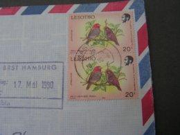 Lesotho Birds Cv.1990 - Lesotho (1966-...)