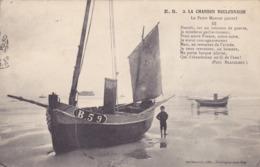 CPA 62 @ BOULOGNE SUR MER - La Chanson Boulonnaise En 1917 - Le Petit Mousse N° 3 Voilier Bateau - Boulogne Sur Mer