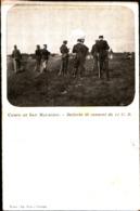 7414) CARTOLINA -MILITARI-CAMPO DI SAN MAURIZIO-BATTERIA DI CANNONI DA 12 G.B.-NUOVA - Manovre