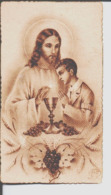 Souvenir De Communion Solennelle Eglise Notre Dame Du Marthuret Riom 17 Mai 1945. Jean Dhumes. - Santini