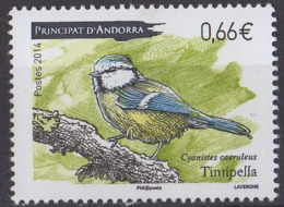 ANDORRE - Oiseau 2014 - Andorra Francesa
