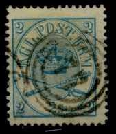 Danemark (1864) N 11 (o) - Usati