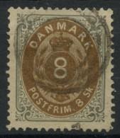 Danemark (1870) N 19 (o) - Usati