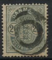 Danemark (1882) N 34 (o) - Usati
