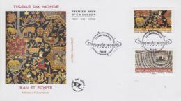 Enveloppe   FDC  1er   Jour   FRANCE   Tissus  Du   Monde   2011 - 2010-....
