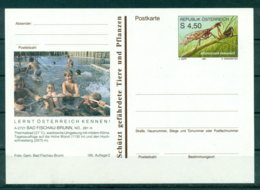 Autriche  1991 - Entier Postal  Bad Fischau-Brunn - 4,50 S - Entiers Postaux