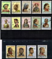 Angola 1961 Partial Set Used - Angola