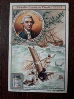 L25/24 RARE .Chromo Liebig  Grands Navigateurs .La Perouse. Naufrage Astrolabe Et De  La Boussole - Liebig