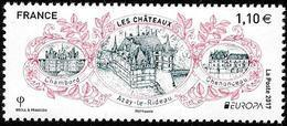 Europa - CEPT 2017 - France - Châteaux - Michel Nr. 6746- Yvert Nr. 5143  ** - 2017