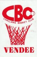 Rare Autocollant Challans Basket Club Vendée - Adesivi