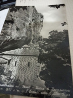 2 CARD  Diverse CASTELNUOVO MONTI LA PIETRA DI BISMANTOVA  E L'EREMO  VB1953/19581960  HF1162 - Reggio Nell'Emilia