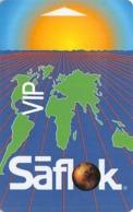Generic Saflok VIP Hotel Room Key Card Copyright 1999-2002 CSS Inc. - Hotel Keycards