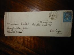 Lettre GC 3905 Tarascon Sur Rhone Bouches Du Rhone - Marcophilie (Lettres)