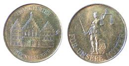 03272 GETTONE TOKEN JETON COMMEMORATIVE FRANKFURTER GLUCKSBRINGER FUR UNSERE MUTTER - Deutschland