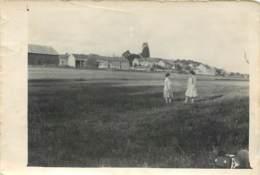 Photo Format Cpa 13x9cm Vers 1920 - Probablement Village En Seine Et Marne (77) - Lieux
