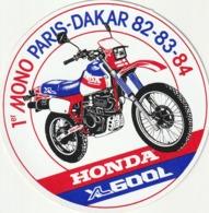 Rare Autocollant 1 Er Mono Paris-dakar Honda XL 600L - Stickers